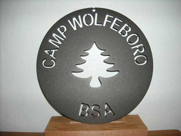 Bronze Plaque